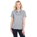 Ladies Grey Heather Crownlux Chevrolet Polo