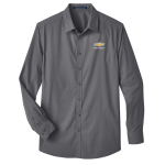 D&J Crownlux Stretch Shirt Charcoal