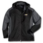 Black / Gunmetal Grey Chevrolet Jacket