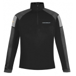 Black Performance Half Zip Chevrolet Pullover Jacket