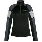 Ladies Black Performance Chevrolet 1/2 Zip