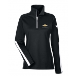 Ladies Under Armour Black Chevrolet Qualifier 1/4 Zip