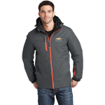 Grey/Orange Chevrolet Waterproof 3-In-1 Jacket