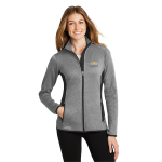 Ladies Grey Heather Eddie Bauer Chevrolet Fleece