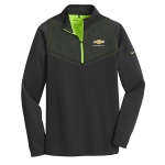 NIKE Black/Green Therma-FIT Chevrolet 1/2 Zip