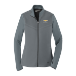 Ladies NIKE Grey/Black Therma-FIT Chevrolet Full Zip