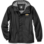 Chevrolet Waterproof/Breathable/Packable Jacket Black