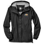 Ladies Chevrolet Waterproof/Breathable/Packable Jacket Black