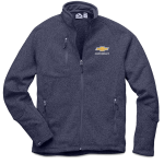 Chevrolet Sweaterfleece Jacket Navy