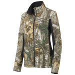Ladies Chevrolet Camo Colorblock Soft Shell Jacket