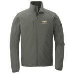 Grey North Face Tech Soft Shell Jacket