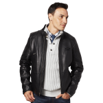 Designer Lambskin Leather Jacket