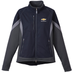 FLASH SALE LADIES HYBRID SOFTSHELL NAVY