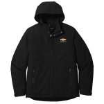 Black Insulated Waterproof Tech Jacket