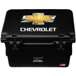 Black 40 Quart Chevrolet Orca Cooler