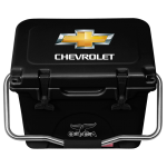 Black 20 Quart Chevrolet Orca Cooler