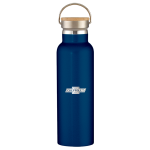 Navy 21oz Stainless Steel Chevrolet Liberty Bottle Wood lid