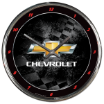 Chevrolet Chrome Clock
