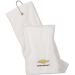White Chevrolet Golf towel
