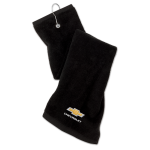Black Chevrolet Golf towel