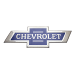 Classic Chevrolet Bowtie Chrome Domz Wall Sign