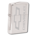 Etched Bowtie  Zippo Lighter