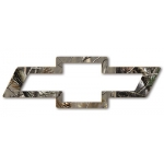 3X8 Realtree Camo Bowtie decal