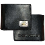 Chevrolet Black Tri-Fold Wallet