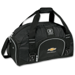 Chevrolet Ogio Black Big Dome Duffle