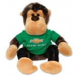 "8"" Monkey w/Green Bowtie Shirt"