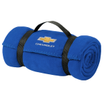 Royal Blue Chevrolet Fleece Blanket