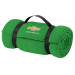 Green Chevrolet Fleece Blanket