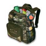 Camo Backpack Cooler w/BT Realtree Xtra