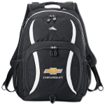 "Daypack w/BT holds 17"" laptops"