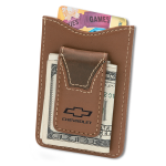 Chevrolet Leather Wallet & Money Clip