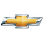 "8"" Gold Chevrolet Decal"