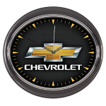 Chevrolet Gold BT Wall Clock