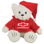 White Chevrolet Christmas Teddy Bear