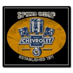"Speed Shop Est 1911 18"" Metal Sign"
