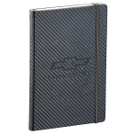 Open Bowtie Carbon Fiber Journal Book