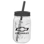 Plastic Chevrolet 25 oz. Game Day Mason Jar
