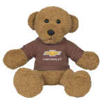 Brown Teddy Bear w/Brown Chevrolet Shirt