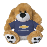 Plush Dog w/Blue Chevrolet Shirt