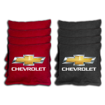 Chevrolet Cornhole Bag 4 Red/4 Black