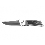 Chevrolet Steel Folding Knife w/ Carbon Fiber Handle