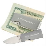 Chevrolet Money Clip/ Knife