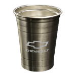 Chevrolet Silver Party Cup
