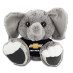 "Elephant 10"" Super Soft Big Paws w/ Chevrolet Black Shirt"
