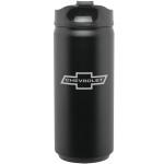 Chevrolet Black Stainless Tumbler