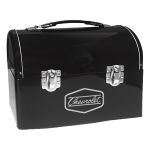 Retro Metal Domed Lunch Box